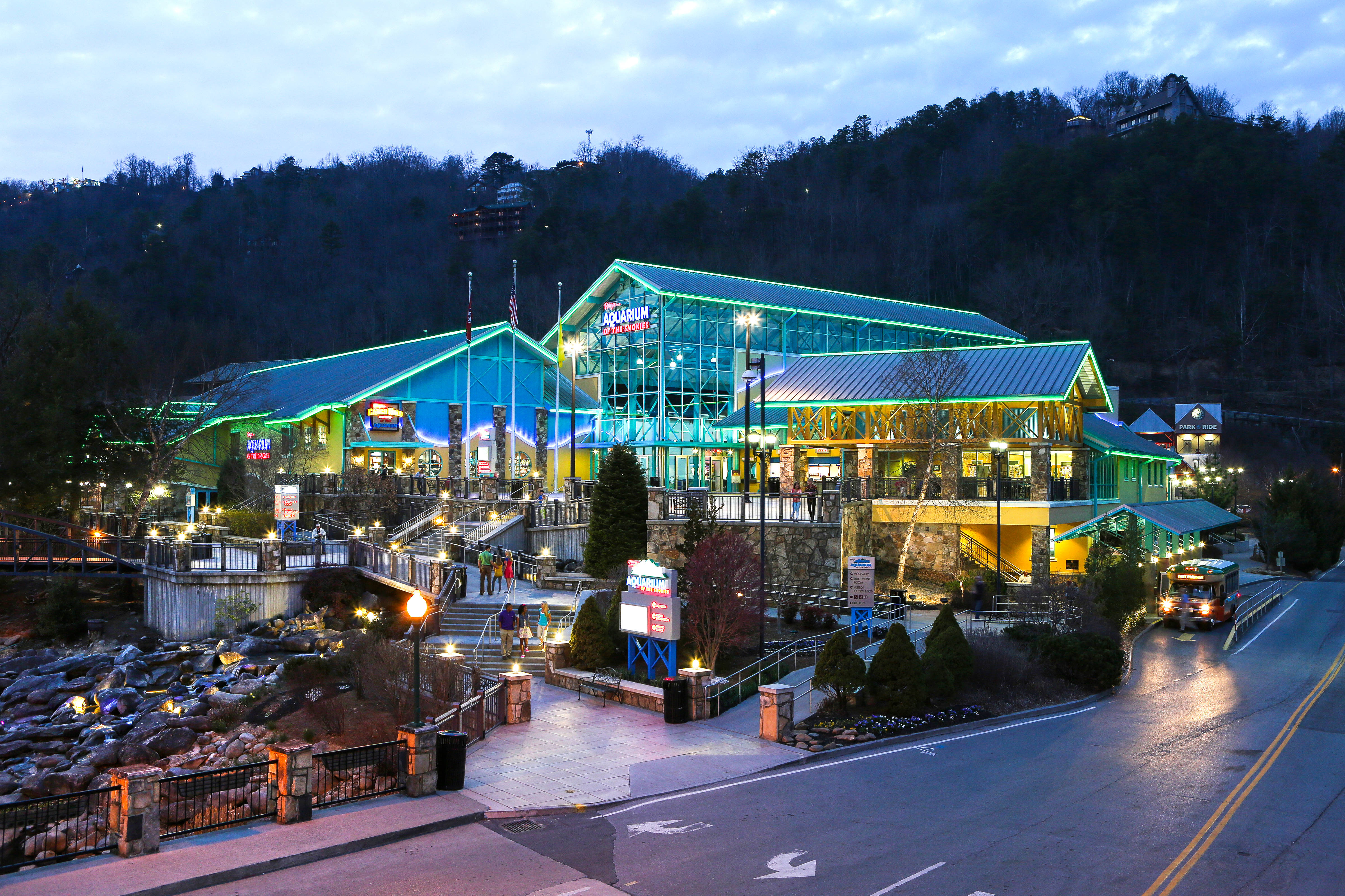 Ripley S Aquarium Of The Smokies In Gatlinburg