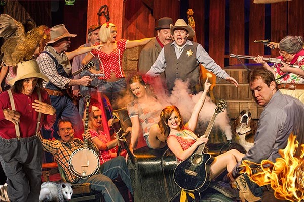 Hatfield And Mccoy Dinner Show In Pigeon Forge