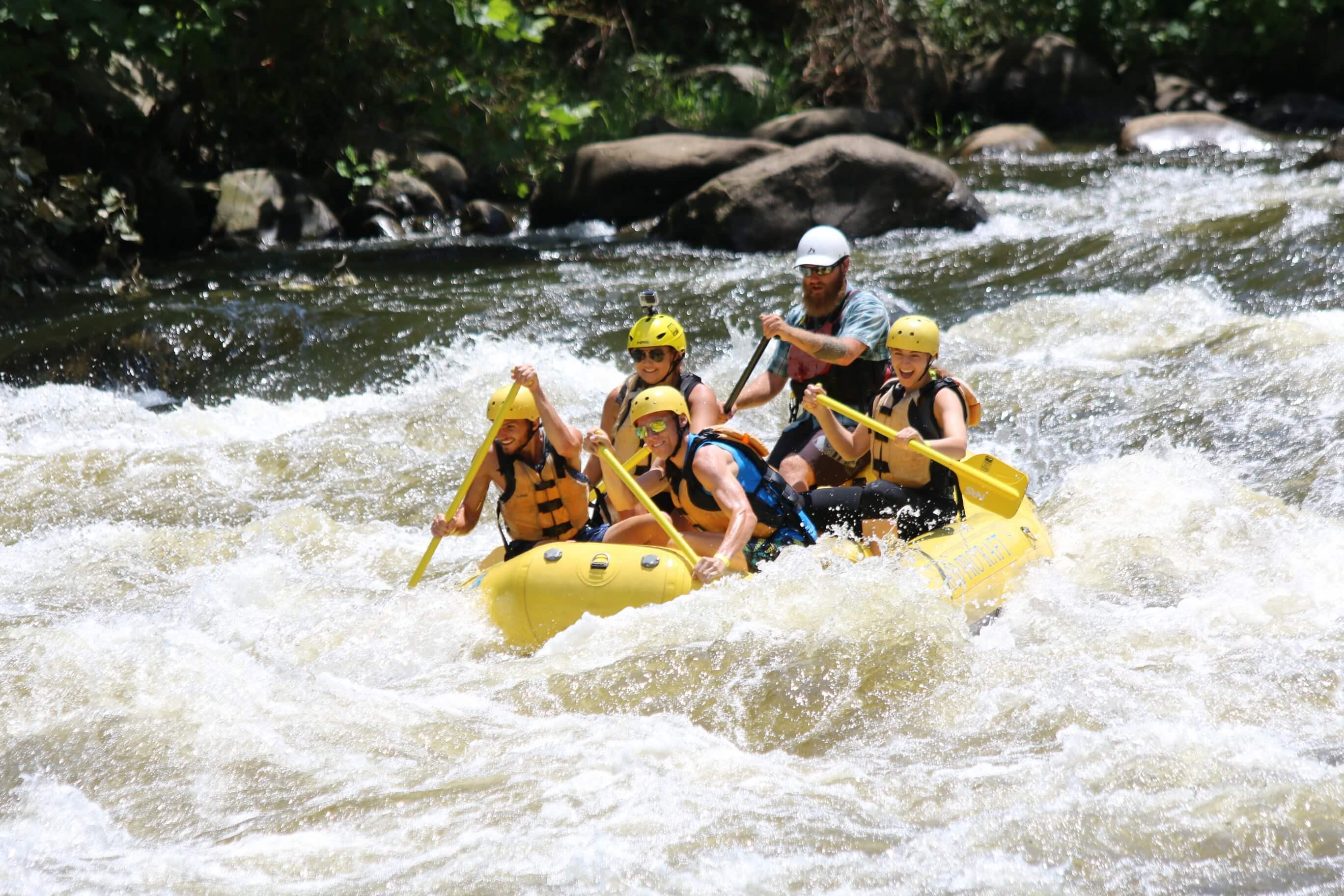 White Water Rafting at RITS