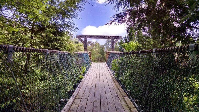 bridges in Pigeon Forge